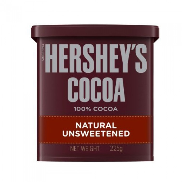 hershey's Cocoa Naatural Unsweetend Powder 225g